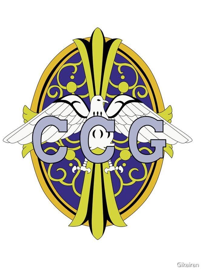 CCG logo Tokyo Ghoul Centre de Contrôle des Goules