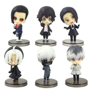 Mini figurine Kaneki Ken, Takizawa, Juuzou Suzuya, Uta, Furuta, Haise Sasaki