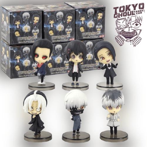 Lot de 6 personnage Tokyo Ghoul