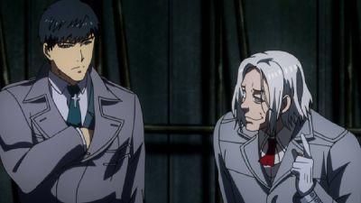 Kureo Mado et Amon Kotaro