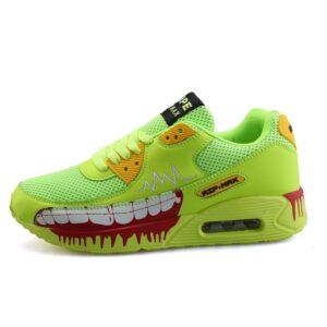 Chaussure Tokyo Ghoul verte