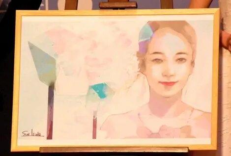 Illustration de Ishida pour le film A bride for Rip Van Winkle