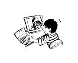 Sui Ishida qui dessine Dark Vador
