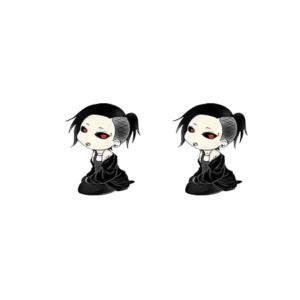 Boucle d'oreille de Uta Tokyo Ghoul