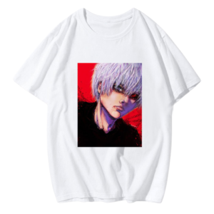 T-shirt de Kaneki réaliste Tokyo Ghoul