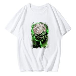 T-shirt Kaneki vert Tokyo Ghoul