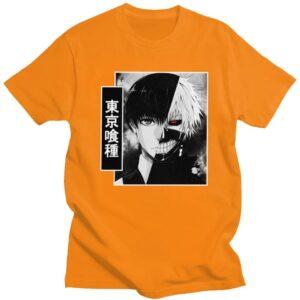 T-shirt Kaneki serious double head