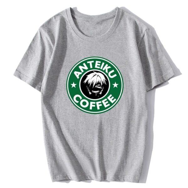 T-shirt Anteiku Cofee gris