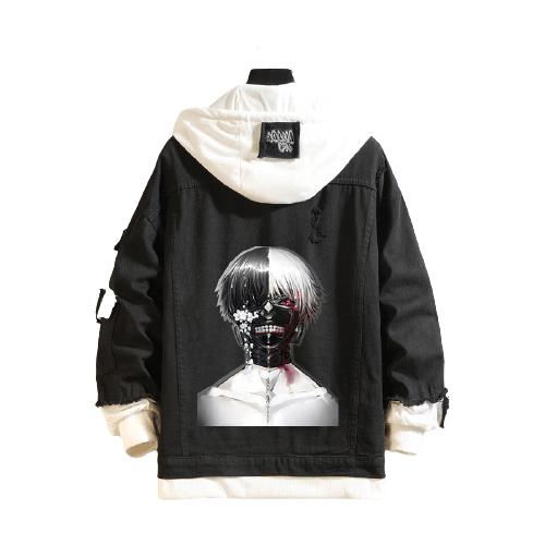 Veste Kaneki double-face Tokyo Ghoul