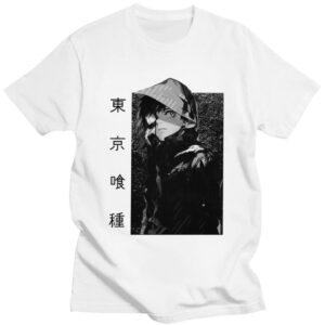 T-shirt Tokyo Ghoul Kaneki avec capuche